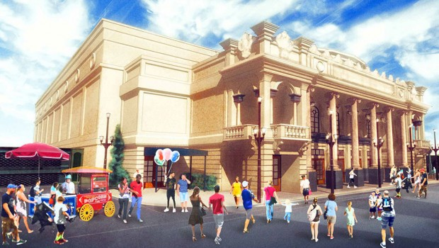 Theater neu in Walt Disney World Resort Main Street USA Artwork