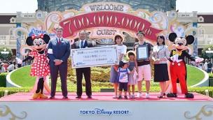 Tokyo Disneyland erreicht Marke von 700 Millionen Besuchern innerhalb 35 Jahre