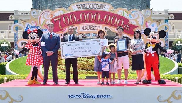 Tokyo Disneyland 700 Millionen Besucher