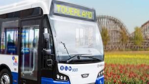 Mit den öffentlichen Verkehrsmitteln ins Toverland: Pendelbus neu im Sommer 2017