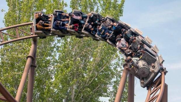Tren de La Mina Parque de Atracciones de Madrid