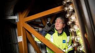 TÜV Nord Fahrgeschäfte-Prüfung Stukenbrock Nahaufnahme