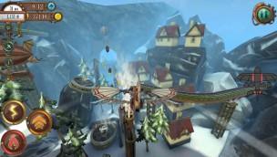 Voletarium Sky Explorers Spiel iOS und Android - Flug