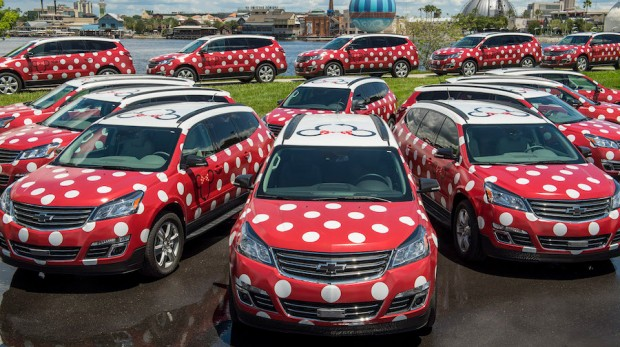 Walt Disney World New Minnie Vehicle