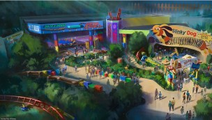 Walt Disney World Resort Toy Story-Land Artwork