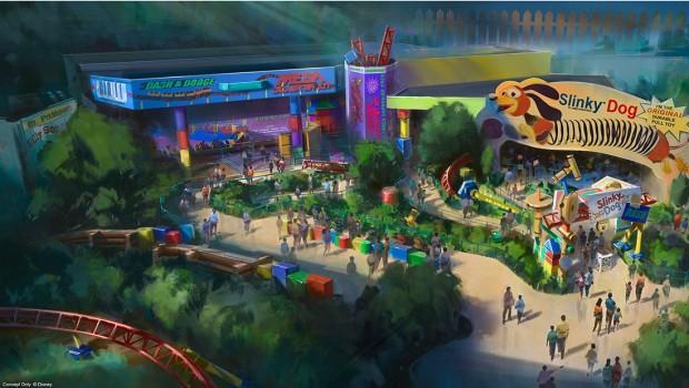 Walt Disney World Resort Toy Story-Land Artwork