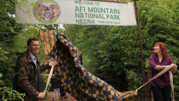 Afi Mountain im Erlebnis-Zoo Hannover - Eröffnung