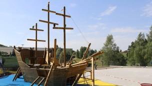 Bayern-Park Wasserspielwelt Pirateninsel