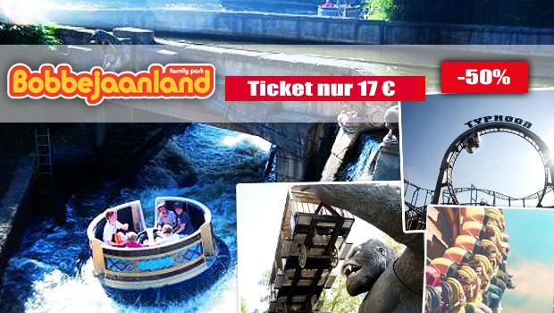 günstige Bobbejaanland-Tickets 2017