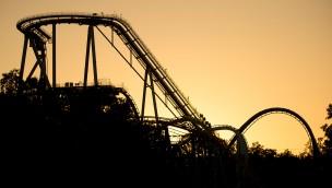 Busch Gardens Williamsburg - Griffon im Sonnenuntergang