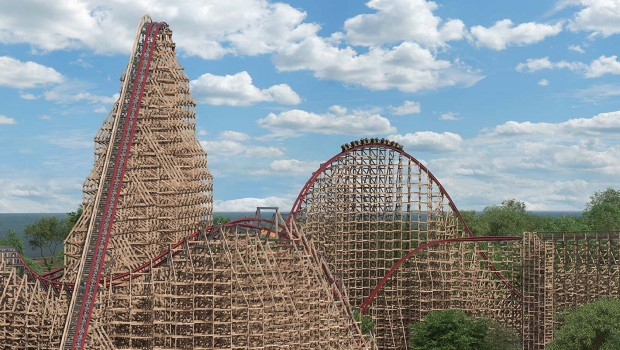 Cedar Point Steel Vengeance Rendering