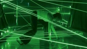 """Conny-Land neu mit 20 Meter langem Laser-Parcours: """"Lasertempel"""" nun eröffnet"""