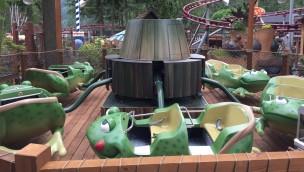 Cultus Lake Adventure Park Fahrgeschäft Ribbit Frosch-Thematisierung