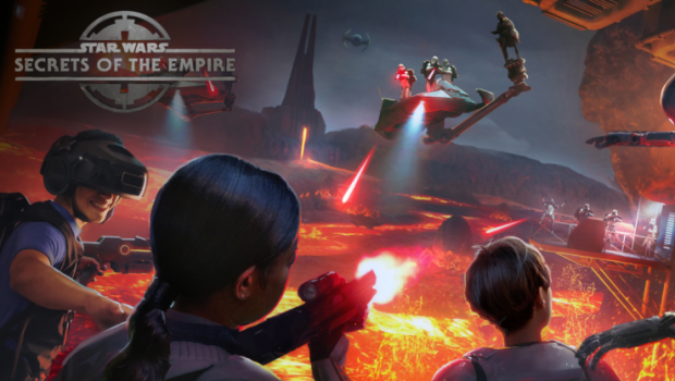 Disney Springs Star Wars: Secrets of the Empire Artwork