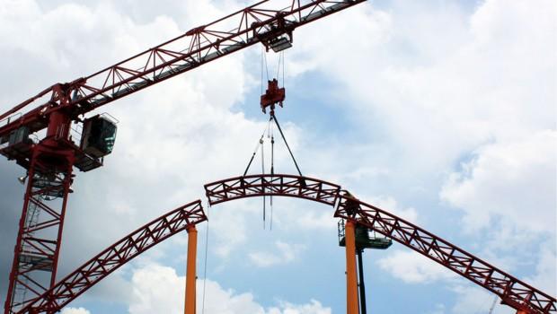 Disney Hollywood Studios Toy Story Land Achterbahn Slinky Dog Dash Schienenschluss