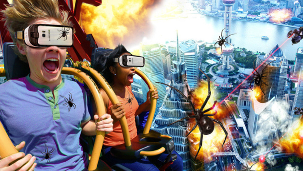 Drop of Doom VR in La Ronde