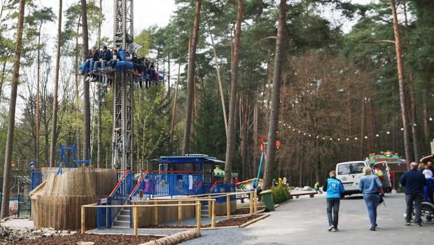 Free Fall Tower Abenteuerturm Freizeit-Land GEiselwind