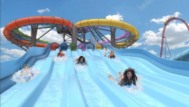 Hersheypark Whitecap Racer Wasserrutsche Mattenrutsche