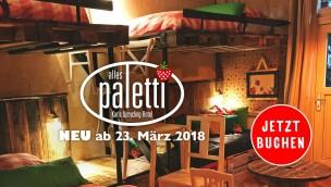 """Karls steigt ins Hotel-Geschäft ein: Eigenes Upcycling-Hotel """"Alles Paletti"""" ab 2018 im Karls Erlebnis-Dorf Rövershagen"""