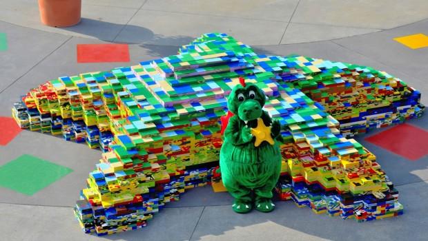 LEGO Seestern LEGOLAND Deutschland Luftaufnahme