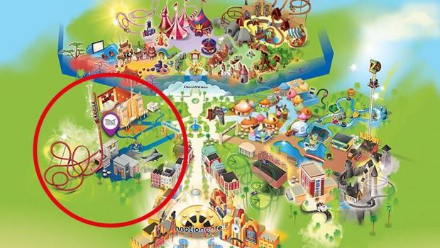 Motiongate Dubai Lionsgate Zone Map