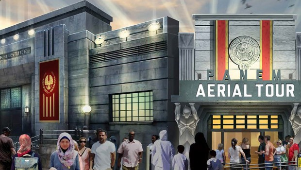 Panem Aerial Tour in Motiongate Dubai Artwork