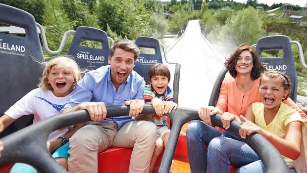 Ravensburger Spieleland Alpin-Rafting Familie