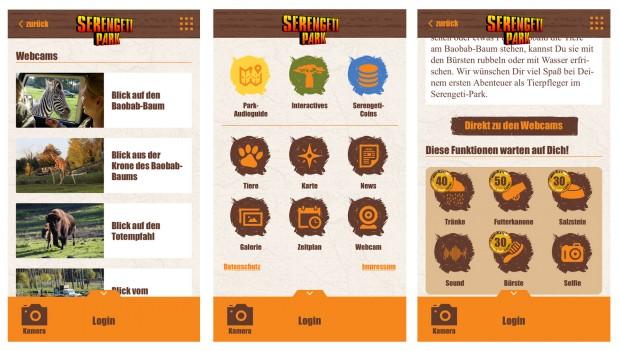 Serengeti-Park interaktiv App