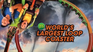 "Six Flags Great America kündigt ""World's Largest Loop Coaster"" an: Rekord-Attraktion eröffnet 2018"
