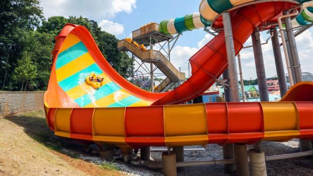Six Flags St. Louis Typhoon Twister Ankündigung