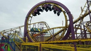 Southport Pleasureland Pinfari Coaster RIP Tide