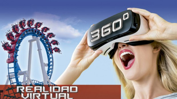 Terra Mítica Titánide Virtual Reality Achterbahn
