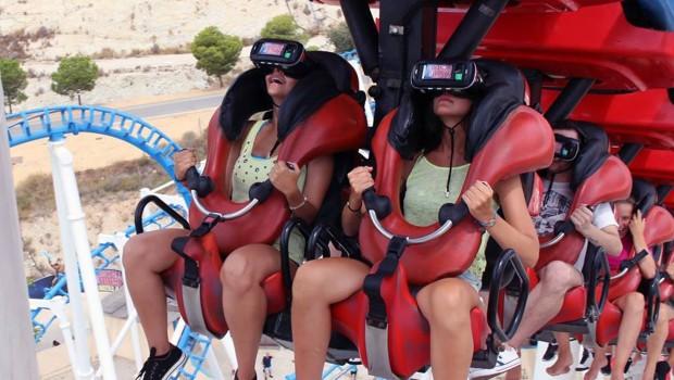 Terra Mítica Titánide VR Coaster