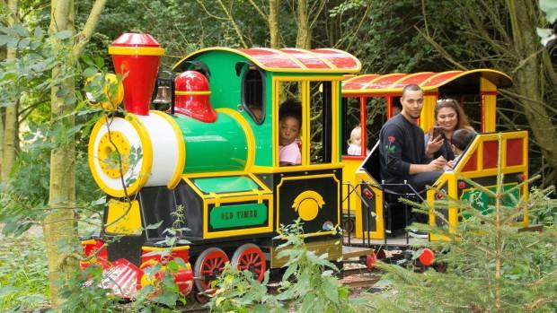 Twinlakes Park Zug Rio Grande Train