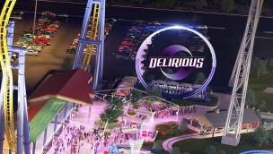 """Valleyfair kündigt Looping-Fahrgeschäft """"Delirious"""" als Neuheit 2018 an"""