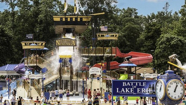 Waldemaar Water World Battle of Lake Erie