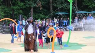 Wasserspielwelt Pirateninsel Bayern-Park