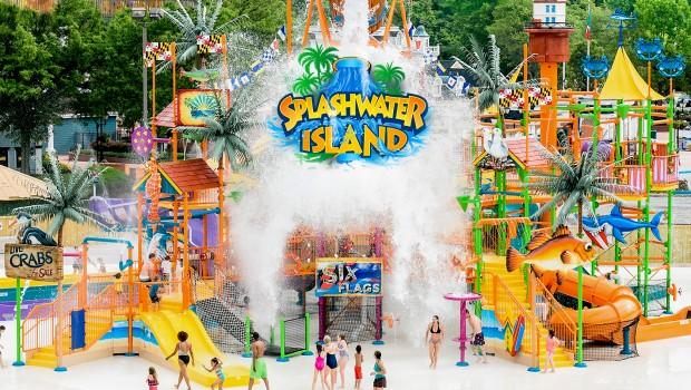 Waterworld Concord Splashwater island 2018 Ankündigung