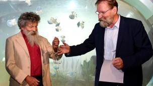 Zoo Rostock: Meeresforscher und Zoo-Experten arbeiten für Quallenforschung zusammen