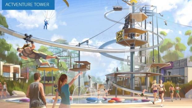 Actventure Artwork Actventure Tower