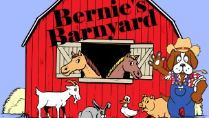 Adventureland Park Bernie's Barnyard Artwork