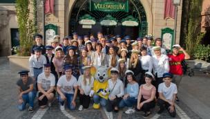 Ausbildungsstart 2017 im Europa-Park: Neue Crew geht auf Entdeckungsreise