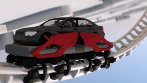 Auto Achterbahn Carmusement RollerCoaster