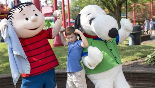 Cedar Fair Peanuts-Lizenzabkommen