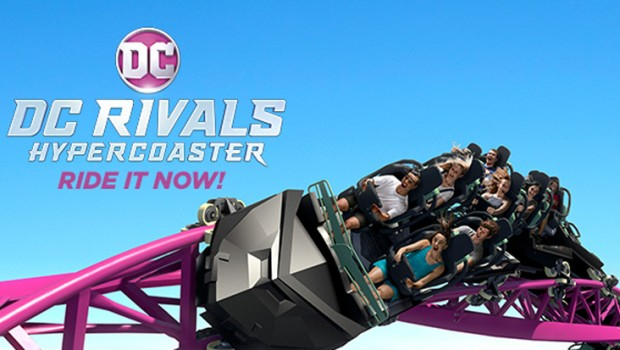 Warner Bros. Movie World Australia DC Rivals HyperCoaster Eröffnung