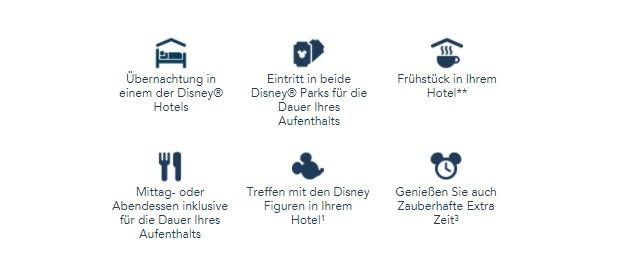 Disneyland Paris Pauschale Übernachtung WInter Angebot 2017