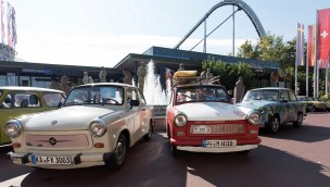 Europa-Park: Nostalgische Trabi-Ausstellung und -Parade am Tag der Deutschen Einheit 2017