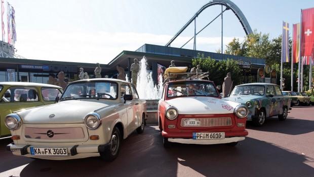 Europa-Park Tag der Deutschen Einheit Trabi-Ausstellung
