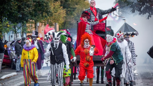 Filmpark Babelsberg Horrornächte Monstermarsch