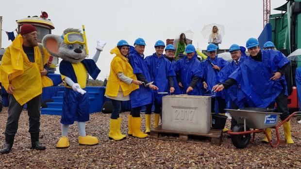 Grundsteinlegung Rulantica Wasserpark in Rust